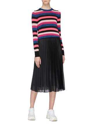 Figure View - Click To Enlarge - MONCLER - 'Maglia' stripe sweater