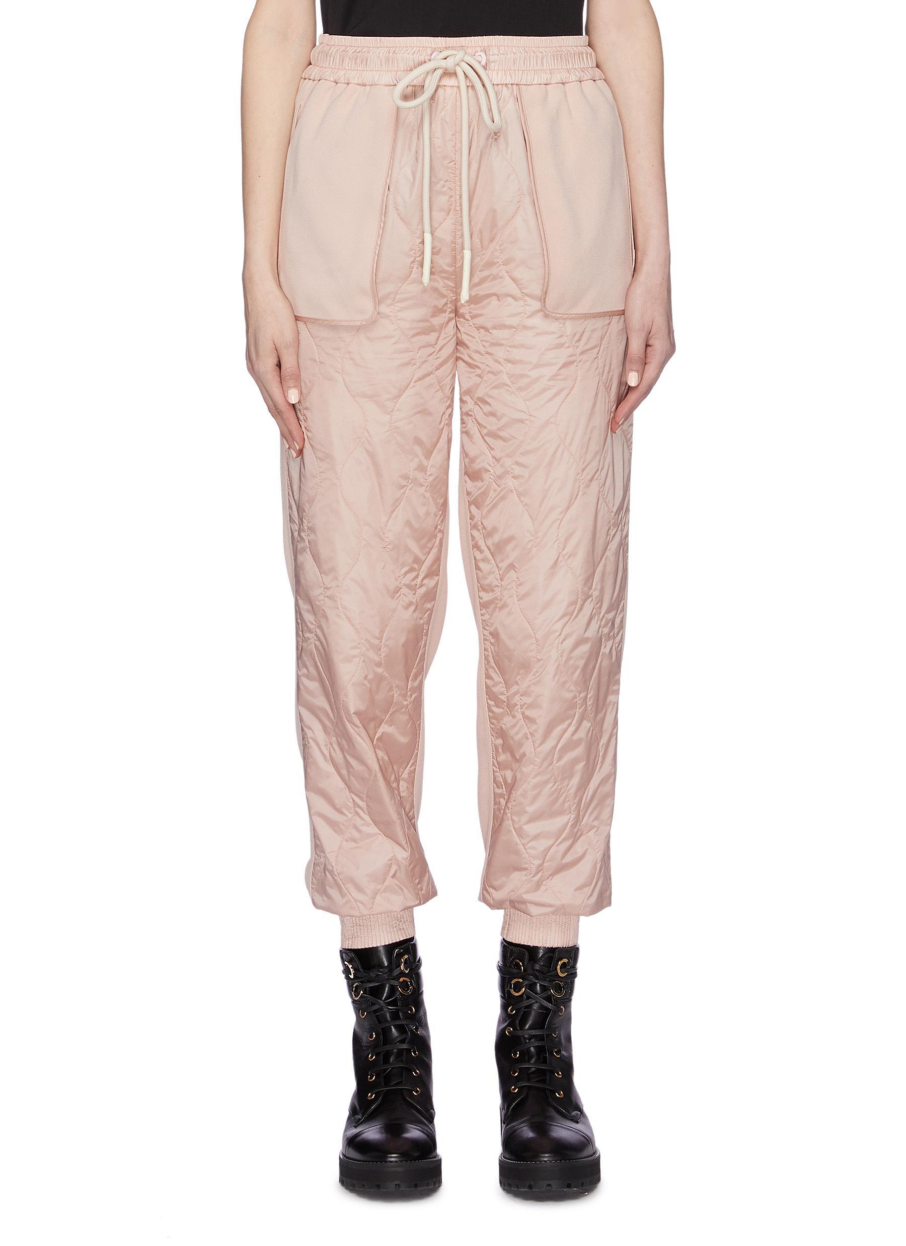 shop Moncler Patchwork jogging pants online