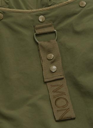 - MONCLER - Detachable hood wide sleeve jacket