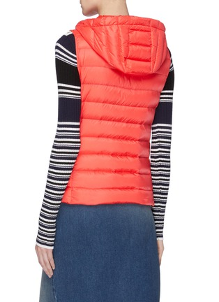 Back View - Click To Enlarge - MONCLER - 'Sucrette' hooded down puffer vest