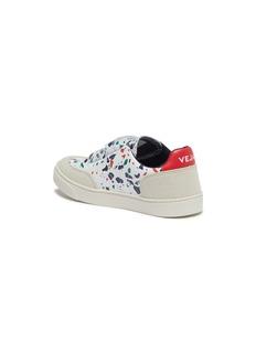 Veja 'V-12' speckle print leather toddler sneakers