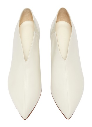 Detail View - Click To Enlarge - Tibi - 'Joe' leather choked-up leather pumps