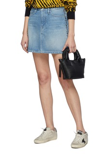 Kara 'Baby Puffer' padded leather tote