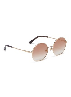 Stephane + Christian 'Well' metal angular round sunglasses
