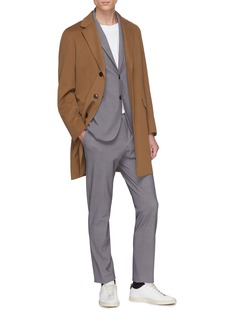 Traiano 'Dante' notched lapel soft blazer