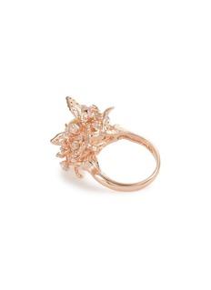 Anabela Chan 'Rose Orchard' diamond gemstone ring