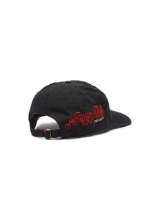 Song for the Mute x Nothing slogan embroidered baseball cap
