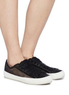 Pedro García 'Parson' patchwork tulle sneakers