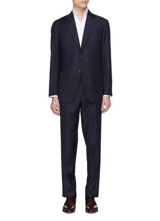 Main View - Click To Enlarge - MAGNUS & NOVUS - Wool twill suit