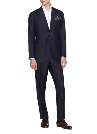 Figure View - Click To Enlarge - MAGNUS & NOVUS - Wool twill suit