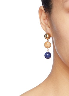 Sophie Monet 'The Droplet' bead drop earrings