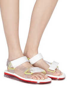 Melissa x Rider 'Papete' strappy PVC sandals