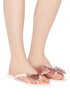 Melissa 'Harmonic Bow VI' PVC flip flops