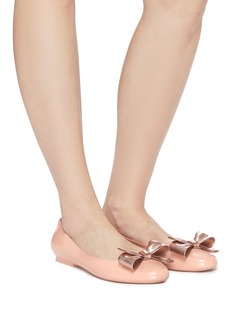 Melissa 'Doll III' bow PVC flats