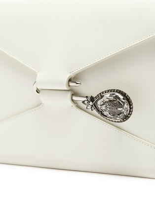 - ALEXANDER MCQUEEN - Beetle pin leather crossbody bag