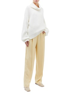 Theory Pleated wide leg pants