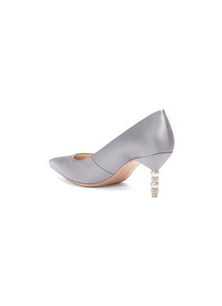 - Sophia Webster - 'Coco' crystal pavé bead heel satin pumps