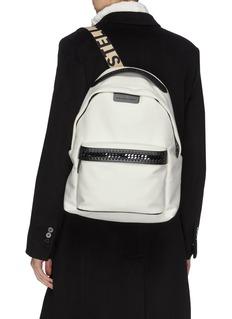 Stella McCartney Logo strap backpack
