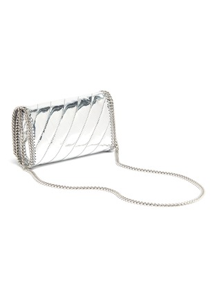 Detail View - Click To Enlarge - Stella McCartney - 'Falabella' mini quilted mirror crossbody bag