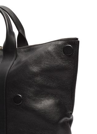 - ALEXANDER MCQUEEN - 'De Manta' suede panel leather backpack tote