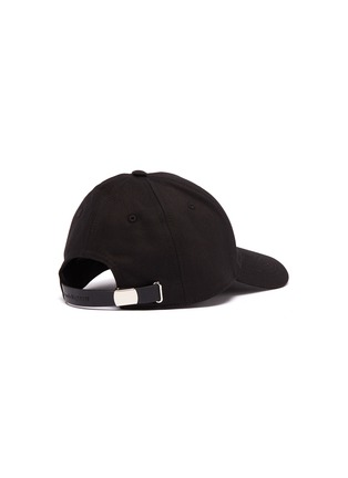 Figure View - Click To Enlarge - Alexander McQueen - Logo embroidered baseball cap