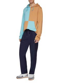Martin Asbjørn 'Neal' pleated twill jogging pants