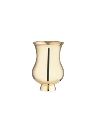 Main View - Click To Enlarge - PUIFORCAT - Champagne tumbler – Gold Immersion
