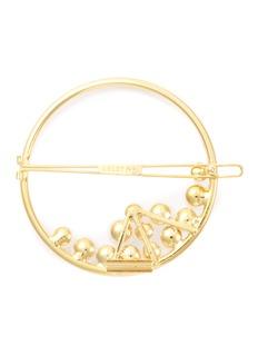 LELET NY 'Ocean' Swarovski pearl ring hair barrette
