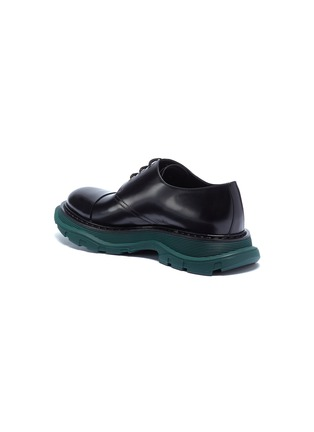 - Alexander McQueen - Chunky outsole leather Derbies