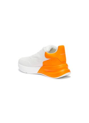 - Alexander McQueen - Oversized outsole colourblock leather sneakers