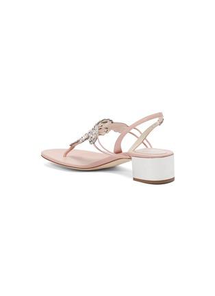 - René Caovilla - 'Veneziana' embellished leather thong sandals