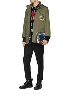 Alexander McQueen Textured skull intarsia sweater