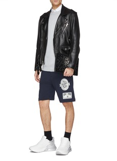 Alexander McQueen Skull appliqué sweat shorts
