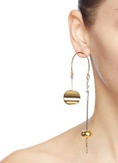 MOUNSER 'Metonic Mobile' geometric link drop earrings