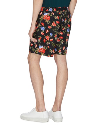 Back View - Click To Enlarge - FFIXXED STUDIOS - Floral print shorts