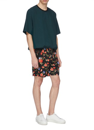 Figure View - Click To Enlarge - FFIXXED STUDIOS - Floral print shorts