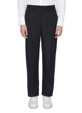 Main View - Click To Enlarge - FFIXXED STUDIOS - Pleated twill pants