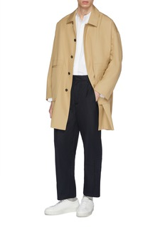 FFIXXED STUDIOS Twill mackintosh coat