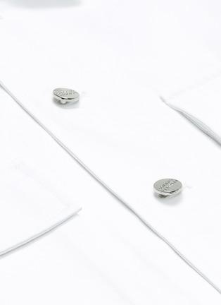 - FFIXXED STUDIOS - x Tobias Kaspar chest pocket shirt jacket