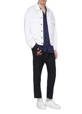 Figure View - Click To Enlarge - FFIXXED STUDIOS - x Tobias Kaspar chest pocket shirt jacket