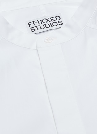 - FFIXXED STUDIOS - Mandarin collar chest pocket shirt