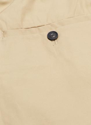 - FFIXXED STUDIOS - Pleated twill bermuda shorts