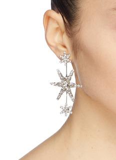 Jennifer Behr 'Aries' glass crystal drop earrings