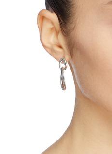 Philippe Audibert 'Marinette' interlocking hoop drop earrings