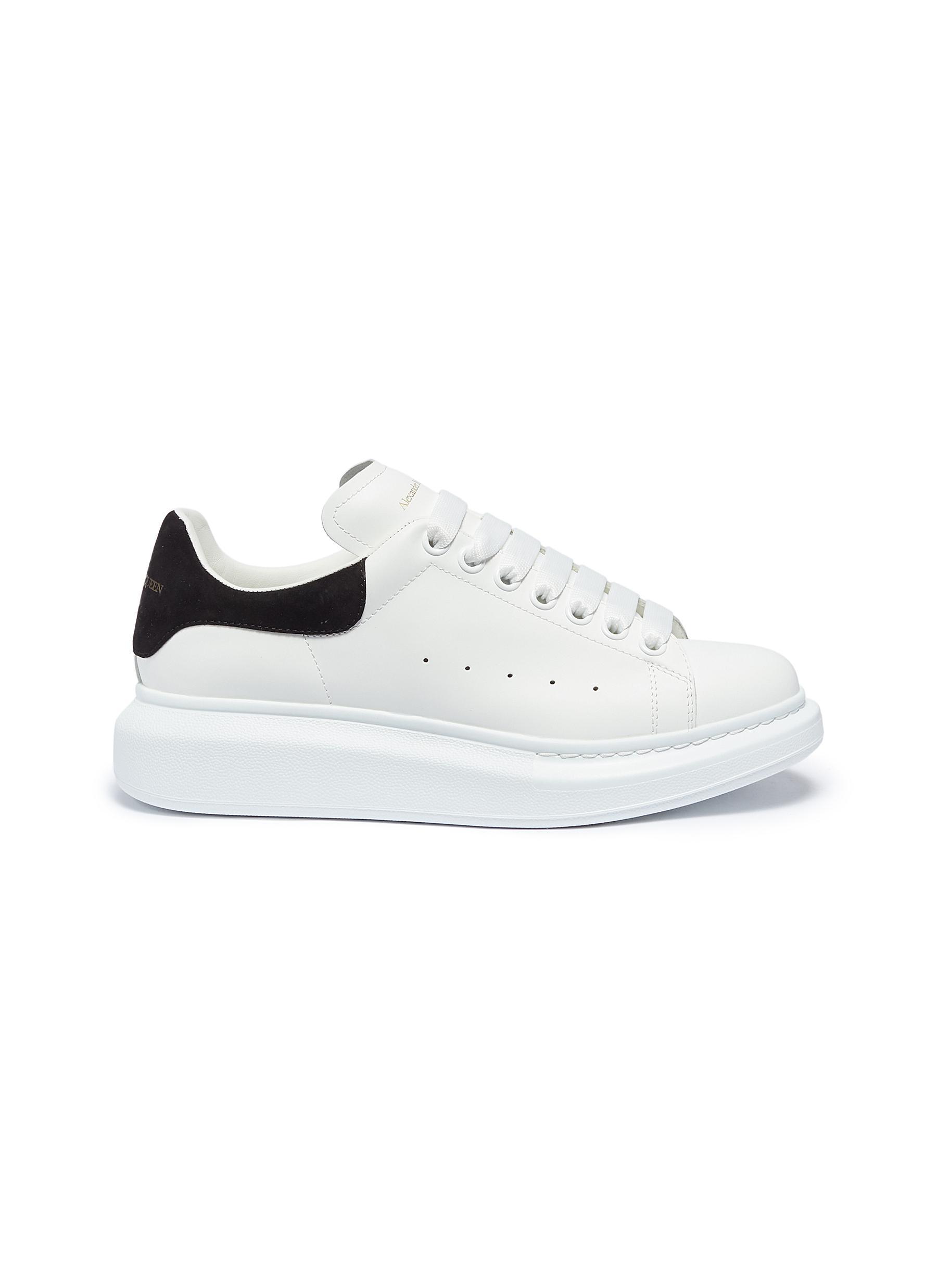 shop Alexander Mcqueen 'Oversized Sneaker' in leather online