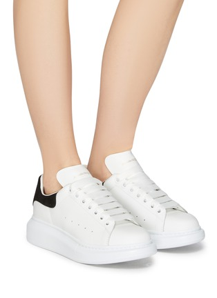 Figure View - Click To Enlarge - ALEXANDER MCQUEEN - 'Oversized Sneaker' in leather