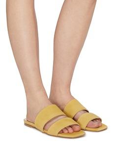 aeyde 'Mattea' suede slide sandals