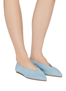 aeyde 'Moa' choked-up suede flats