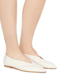aeyde 'Moa' choked-up leather flats