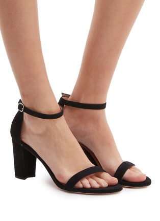 3271130c0fd6 Figure View - Click To Enlarge - Stuart Weitzman -  Nearlynude  ankle strap  suede